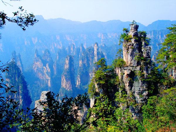 天子山自然风景区